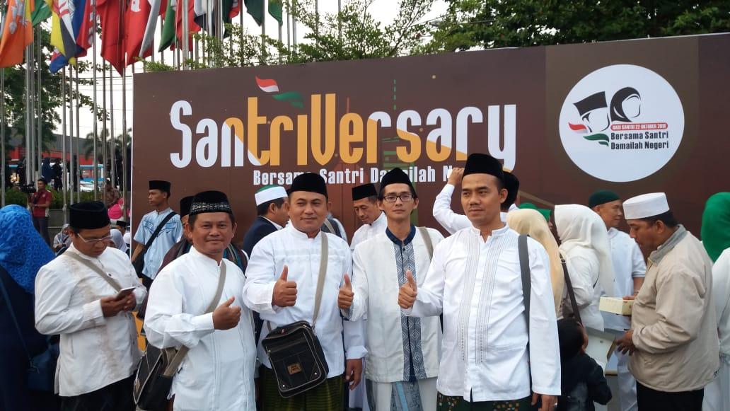 Menghadiri Peringatan HSN, 22 Oktober 18 di Bandung